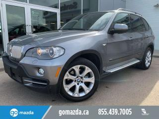 Used 2008 BMW X5 48i XDRIVE LEATHER PANO ROOF NAV GREAT CONDITION for sale in Edmonton, AB