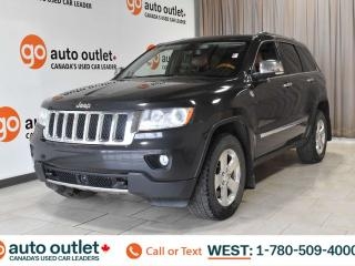 Used 2011 Jeep Grand Cherokee OVERLAND, 4WD, POWER WINDOWS & SEATS, STEERING WHEEL CONTROLS, CRUISE CONTROL, A/C, FRONT & REAR HEATED SEATS, HEATED STEERING WHEEL, AM/FM RADIO, SATELLITE RADIO, BACKUP CAMERA, SUNROOF, DVD ENTERTAINMENT SYSTEM for sale in Edmonton, AB