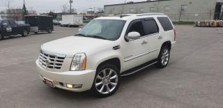 Used 2008 Cadillac Escalade AWD, Navi,7 Pass, 3/Y warranty available for sale in Toronto, ON