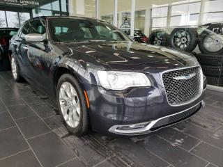 Used 2017 Chrysler 300 C PLATINUM, HEATED/VENTED SEATS, NAVI, REAR VIEW CAMERA, SUNROOF for sale in Edmonton, AB
