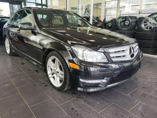 Used 2012 Mercedes-Benz C-Class C 300, HEATED SEATS, ACCIDENT FREE for sale in Edmonton, AB