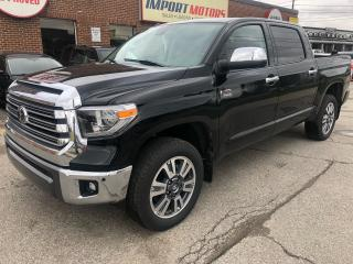 Used 2019 Toyota Tundra Platinum for sale in North York, ON