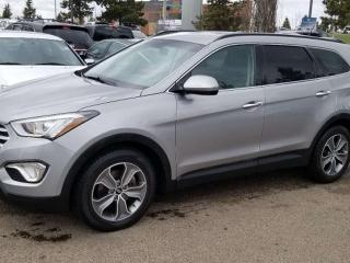 Used 2015 Hyundai Santa Fe XL XL; 7PASS, BLUETOOTH, HEATED SEATS, KEYLESS ENTRY/START AND MORE for sale in Edmonton, AB