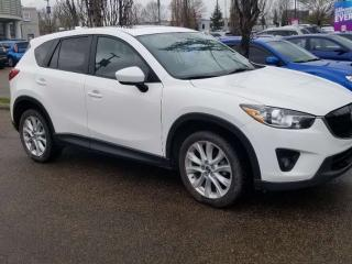 Used 2013 Mazda CX-5 GT;LOADED, NAV, BACKUP CAM, BLUETOOTH, HEATED SEATS, SUNROOF AND MORE for sale in Edmonton, AB