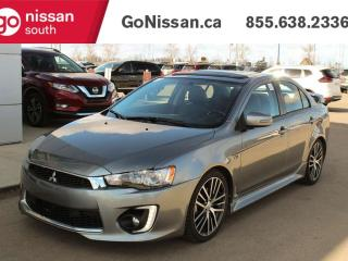 Used 2017 Mitsubishi Lancer GTS FWD WITH MOON ROOF BACKUP CAMERA AND LEATHER !!! for sale in Edmonton, AB