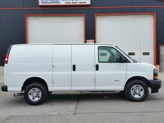 Used 2018 Chevrolet Express 2500HD DURAMAX DIESEL CARGO VAN for sale in Jarvis, ON