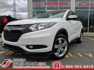 Used 2016 Honda HR-V 4WD 4dr CVT EX-L w/GPS for sale in Sorel-Tracy, QC