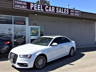 Used 2014 Audi A4 Progressiv|MANUAL|NAVI|SUNROOF|REARVIEW| for sale in Mississauga, ON