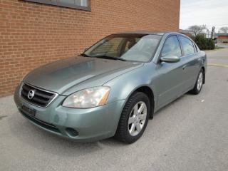 Used 2002 Nissan Altima SL for sale in Oakville, ON