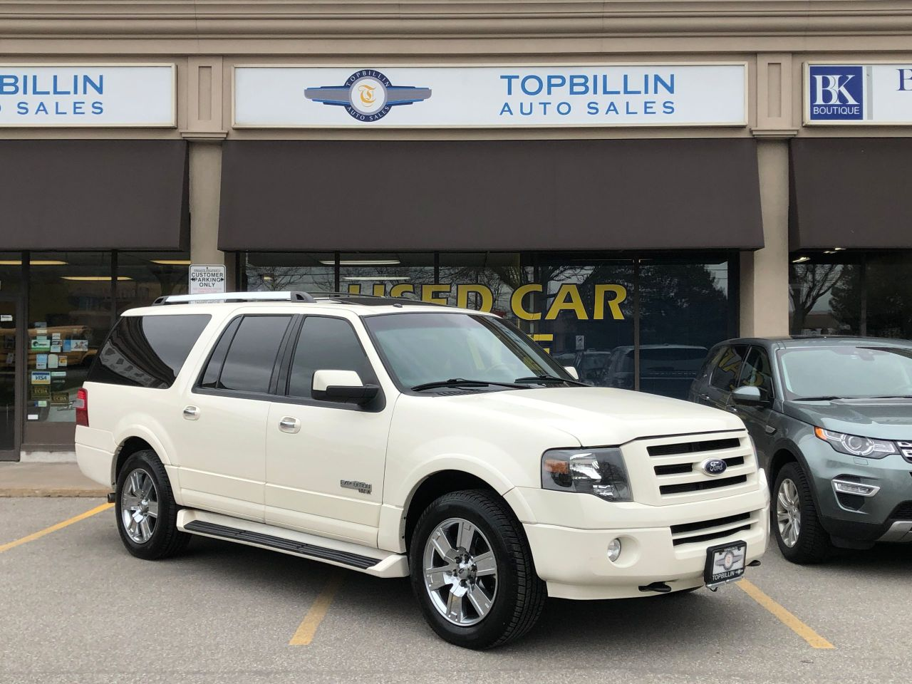 2007 Ford Expedition Limited, Navi, DVD, Backup Cam