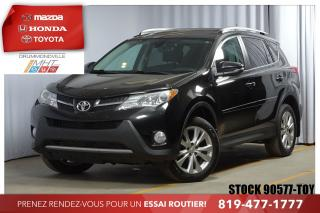 Used 2014 Toyota RAV4 Ltd Intégrale+cuir for sale in Drummondville, QC