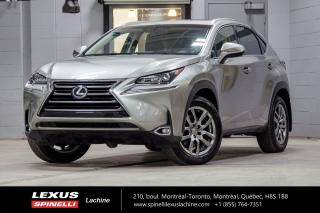 Used 2017 Lexus NX 200t PREMIUM AWD; CUIR TOIT CAMERA MAGS TOIT-OUVRANT - CAMÉRA DE RECUL - MONITEUR ANGLES MORTS - VOLANT CHAUFFANT for sale in Lachine, QC