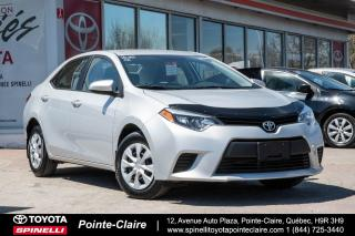 Used 2015 Toyota Corolla Ce Grp électrique for sale in Pointe-Claire, QC