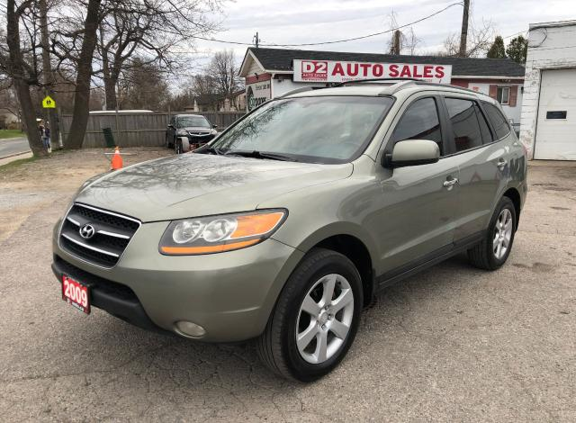 2009 Hyundai Santa Fe Limited/AWD/Comes Certified/1Owner/Leather/Roof