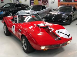Used 1968 Chevrolet Corvette Street Legal Vintage Race Car for sale in Paris, ON