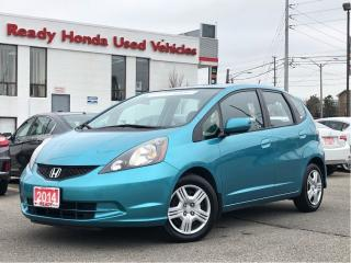 Used 2014 Honda Fit LX -  Auto - Air - Bluetooth for sale in Mississauga, ON