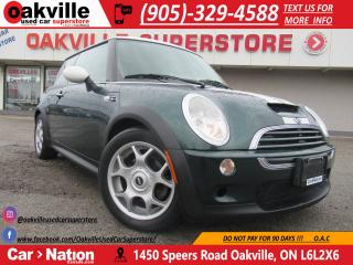 Used 2004 MINI Cooper S BRITISH RACING GREEN | PANO ROOF | U SAFETY U SAVE for sale in Oakville, ON