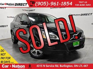 Used 2012 Volvo XC60 T6 Platinum| AWD| LOCAL TRADE| PANO ROOF| NAVI| for sale in Burlington, ON