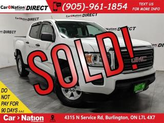 Used 2015 GMC Canyon SL| LOW KM'S| BACK UP CAMERA| for sale in Burlington, ON