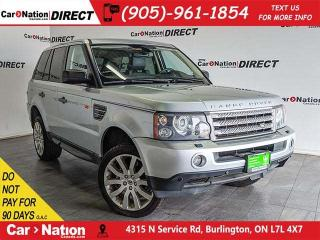 Used 2006 Land Rover Range Rover Sport Supercharged| AS-TRADED| NAVI| SUNROOF| for sale in Burlington, ON