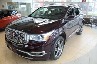 Used 2017 GMC Acadia Denali | AWD & Sunroof! for sale in Whitby, ON