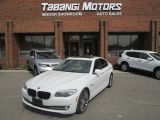 Photo of White 2013 BMW 5 Series