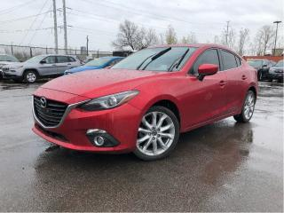 Used 2015 Mazda MAZDA3 GT Leather Moonroof Navigation for sale in St Catharines, ON