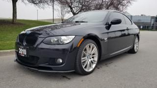 Used 2010 BMW 3 Series 2dr Cpe 335i xDrive AWD | M-Sport |Accident Free | Red Int for sale in Vaughan, ON