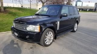 Used 2009 Land Rover Range Rover 4WD 4dr SC | Accident Free | Navi | Back-Up Camera | DVD for sale in Vaughan, ON