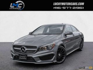 Used 2015 Mercedes-Benz CLA-Class CLA250 4MATIC AMG PKG-BACKUP CAMERA-NAVI-BLINDSPOT for sale in North York, ON