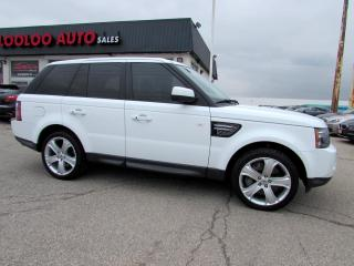 Used 2012 Land Rover Range Rover Sport Sport Supercharged Navigation Bluetooth Certified 2YR Warranty for sale in Milton, ON