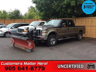 Used 2008 Ford F-350 Super Duty XLT  (AS TRADED) 4WD CREW CAB DIESEL WESTERN-PLOW for sale in St. Catharines, ON