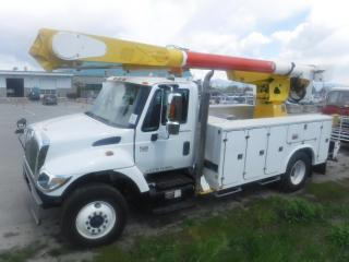 Used 2003 International 7400 Diesel Bucket Truck With Air Brakes for sale in Burnaby, BC