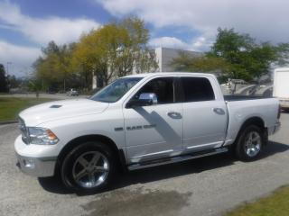 Used 2011 Dodge Ram 1500 Big Horn Crew Cab Short Box 4WD for sale in Burnaby, BC