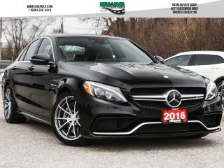 Used 2016 Mercedes-Benz C-Class AMG 63 Low Kms Clean Carfax for sale in North York, ON
