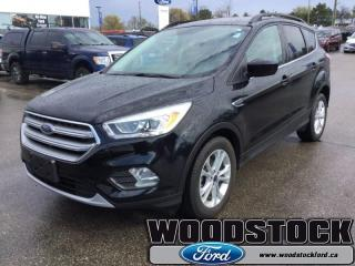 Used 2017 Ford Escape SE  - One owner - Local - Trade-in for sale in Woodstock, ON