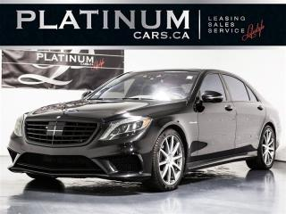 Used 2014 Mercedes-Benz S63 AMG Carbon PKG, Drive ASSIST, CHAUFFEUR, Excl for sale in Toronto, ON