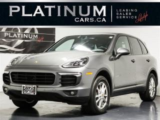 Used 2016 Porsche Cayenne Premium PLUS, NAVI, LANE, BLINDSPOT, Radar Cruise for sale in Toronto, ON