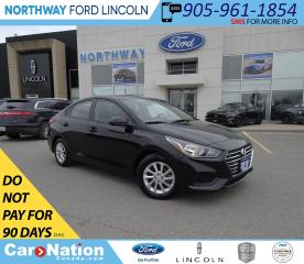 Used 2018 Hyundai Accent GL | HTS SEATS | ALLOY WHEELS | BACK UP CAM | for sale in Brantford, ON