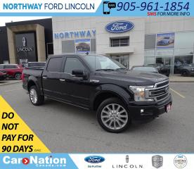 Used 2018 Ford F-150 Limited | NAV | SPRAY LINER | MSRP OVER $80,000! | for sale in Brantford, ON
