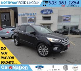 Used 2018 Ford Escape Titanium | AWD | NAV | HTD LEATHER | PANOROOF | for sale in Brantford, ON