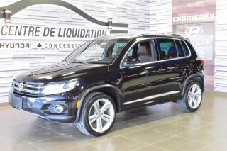 Used 2015 Volkswagen Tiguan HIGHLINE+R-LINE+TOIT+MAGS+CUIR+GPS+AWD for sale in Laval, QC