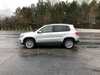 Used 2017 Volkswagen Tiguan Wolfsburg Awd for sale in Cayuga, ON
