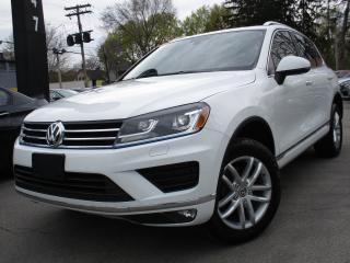 Used 2016 Volkswagen Touareg TDI SPORTLINE ~ 11,000KMS ONLY ~ ONE OWNER !!! for sale in Burlington, ON
