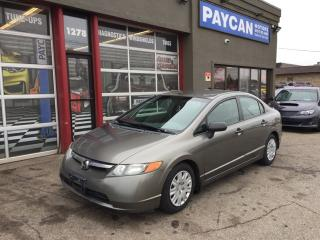 Used 2008 Honda Civic Sdn DX for sale in Kitchener, ON