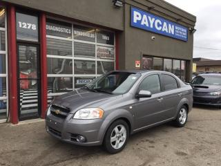 Used 2008 Chevrolet Aveo LT for sale in Kitchener, ON
