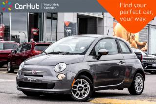 Used 2012 Fiat 500 Pop MemoSeat|KeylessEntry|MP3Radio|PoweredLocks|HillStartAssist for sale in Thornhill, ON