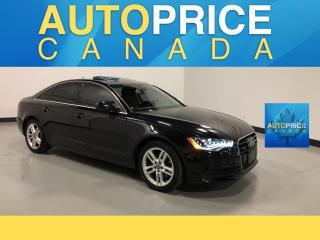 Used 2014 Audi A6 2.0 Technik MOONROOF NAVIGATION LEATHER for sale in Mississauga, ON