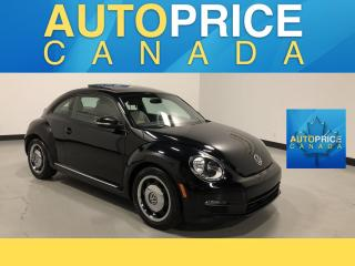 Used 2015 Volkswagen Beetle 1.8 TSI Comfortline NAVIGATION|PANOROOF|LEATHER/CLOTH for sale in Mississauga, ON