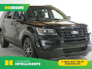 Used 2016 Ford Explorer SPORT AWD AC GR for sale in St-Léonard, QC